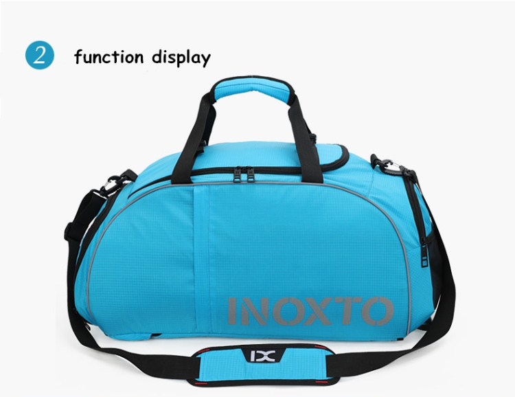 private label smart high quality sports slim duffel gym rucksack bag back pack