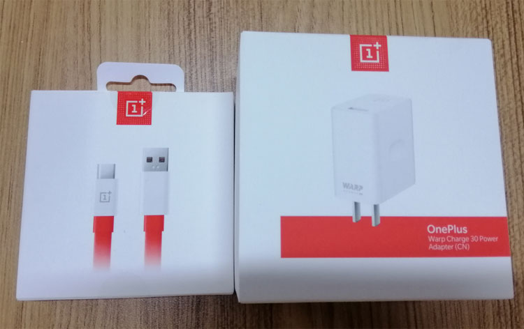 Original Oneplus Warp quick charging Type-C USB cable power adapter kit 30W CN Plug