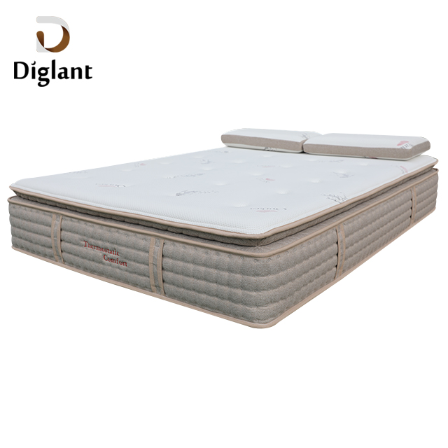 DM25 Diglant Latest Double Fabric Foldable King Size Gel Memory Natural latex mattress - Jozy Mattress | Jozy.net