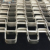 Wear Resistant 304 316 food grade stainless steel wire mesh honeycomb flat wire strip cooling conveyor belts price