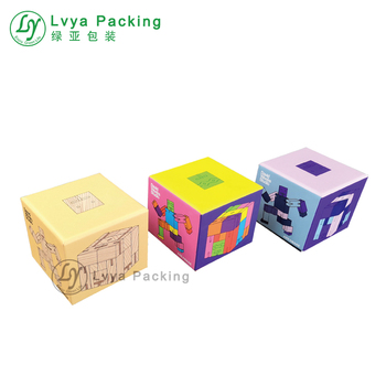 Hot sale colourful design Custom cardboard carton  toy gift packaging paper box