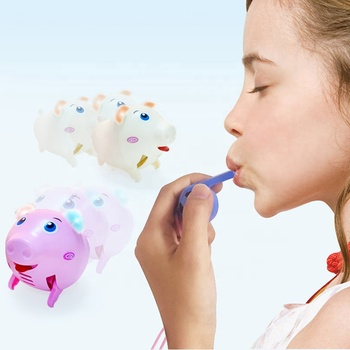 2019 Amazon Popular Series Mini Pig Whistle Interactive Toys For Children
