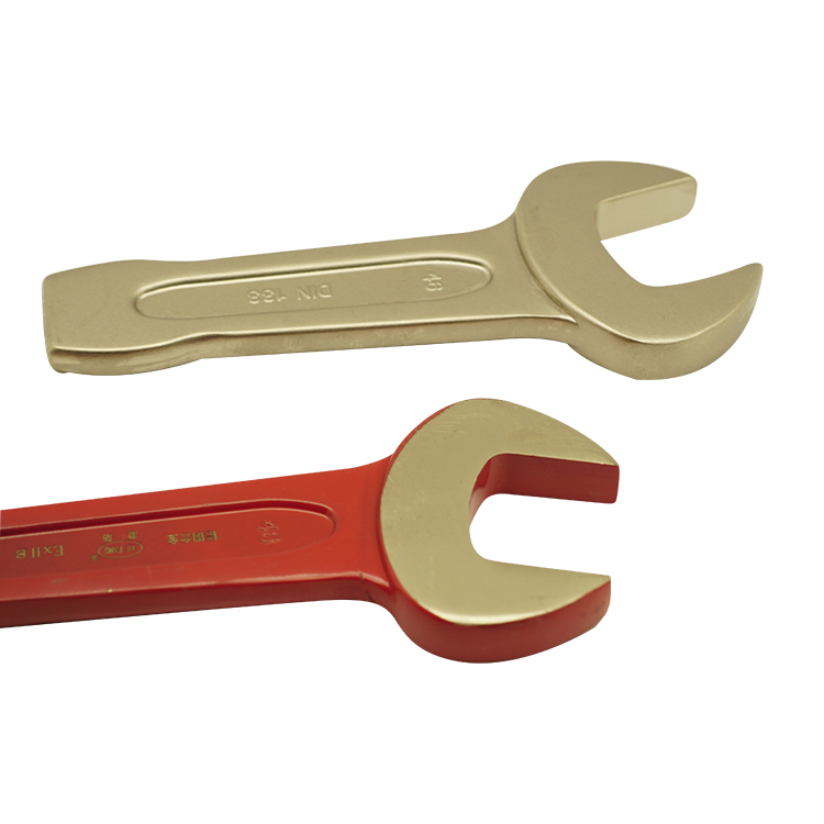 Senior Alloy Steel Double Open End Wrench,Tough Transmission Line Stringing Tools