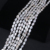 9*13mm oval shape natural freshwater loose bead strand pearl
