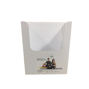 Promotional packaging folding stack PDQ counter display box