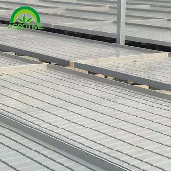 Ebb and flow flood trays  drain tables propagation trays