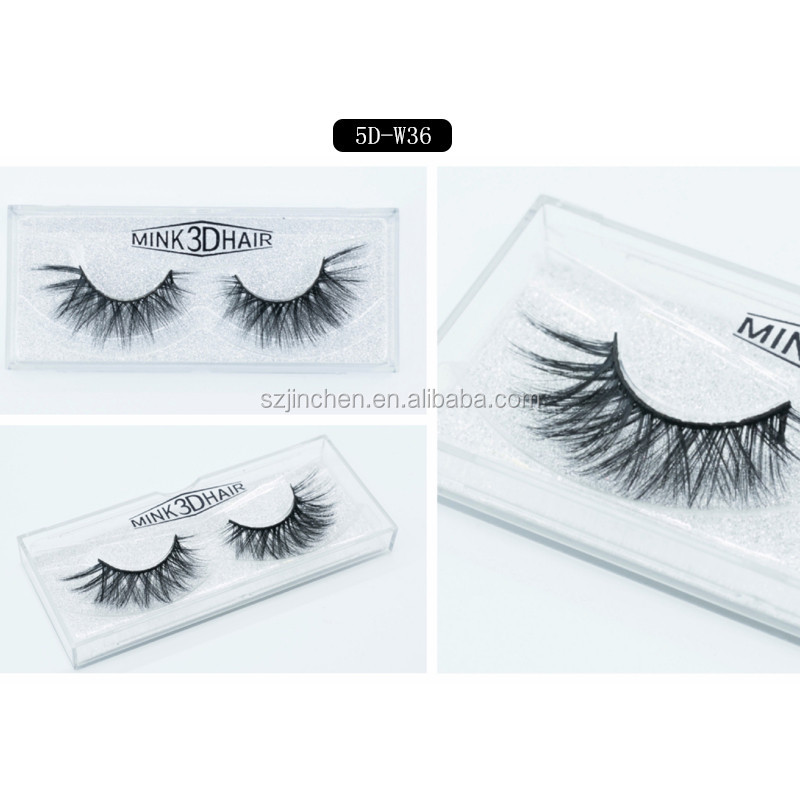 Private label W series 19 models 5D mink eyelashes 1 pair natural false eyelashes thick false eyelashes full strip eye lashes