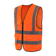 V-shape reflective <strong>safety</strong> blue/orange/pink/yellow/red/purper polar traffic vest