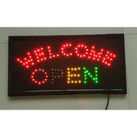 High quality cheap open led sign board3d led letter sign outdoor sign board