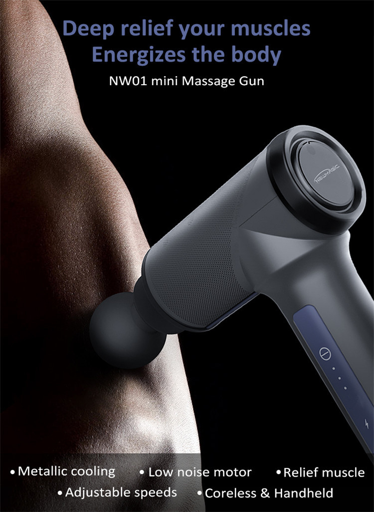 Body Massager Machine Deep Tissue Vibratie Massage Gun