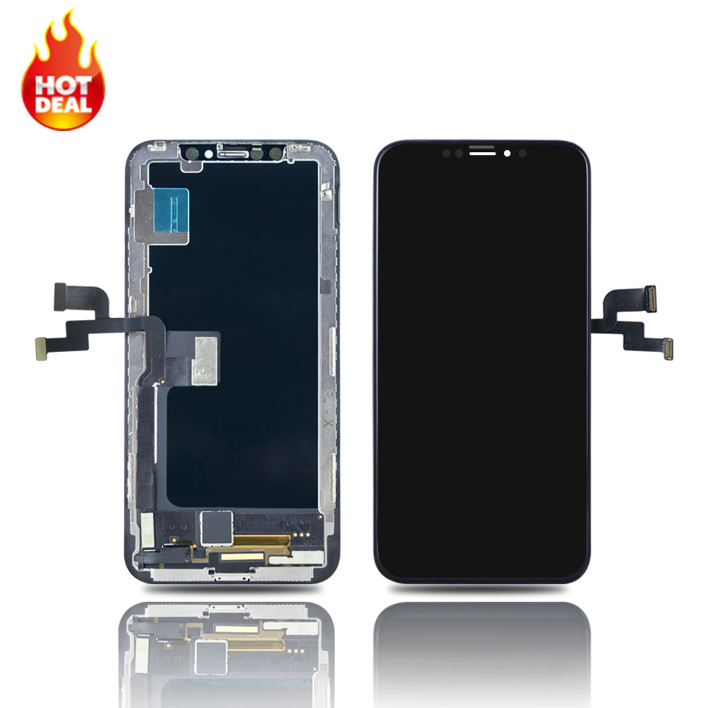 2020 Hot selling for <strong>iPhone</strong> X OLED LCD Screen display assembly,for <strong>iPhone</strong> X lcd replacement with good quality
