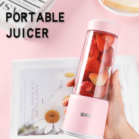 New arrival one hand portable bottle blender rechargeable high speed strong mini USB electric juicer mixer blender