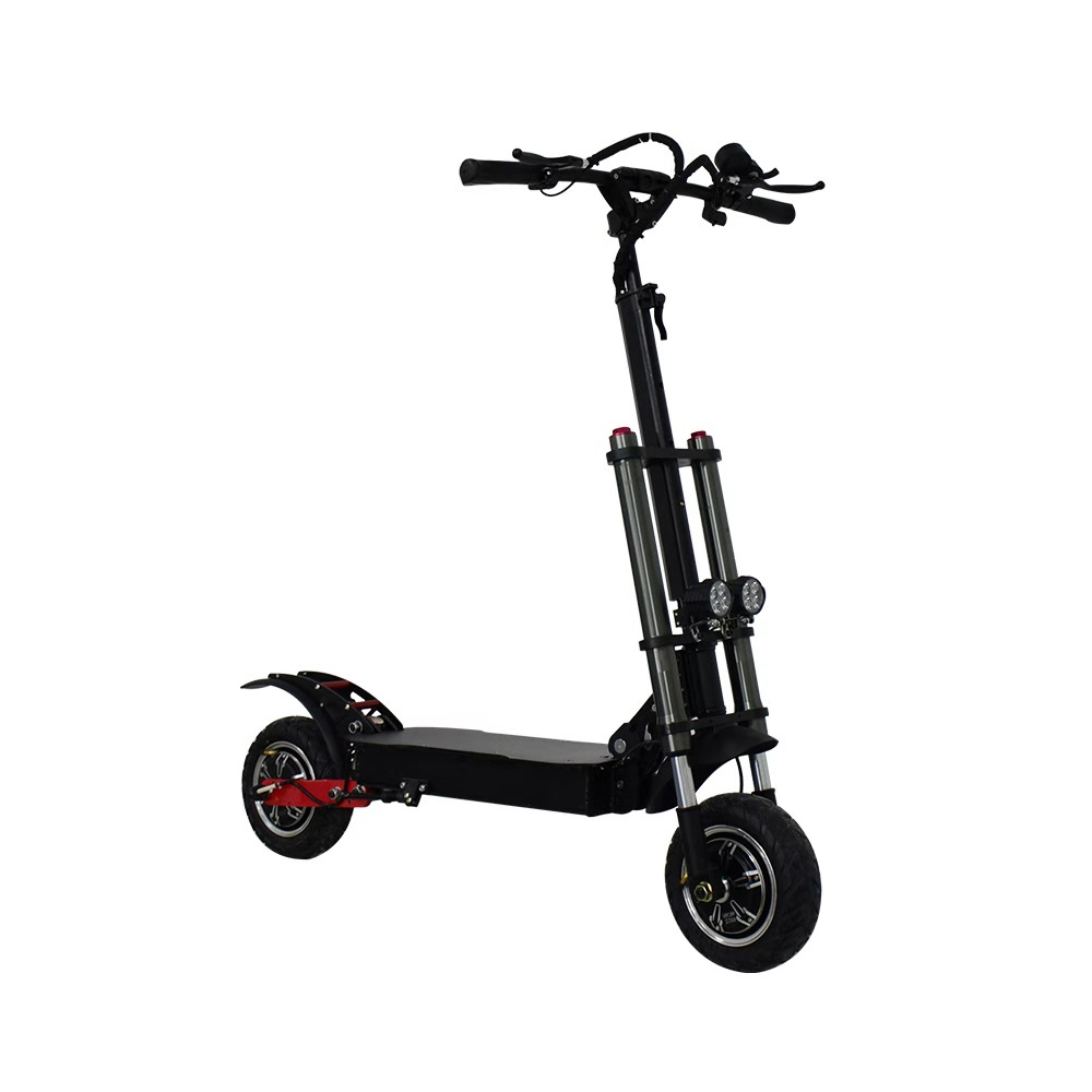 Chinese high speed 2 wheel off road foldable dual motor electric scooter for adult