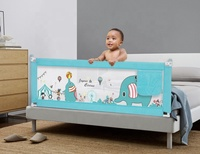100% Safe Bed Guard for Kids Baby Playpen