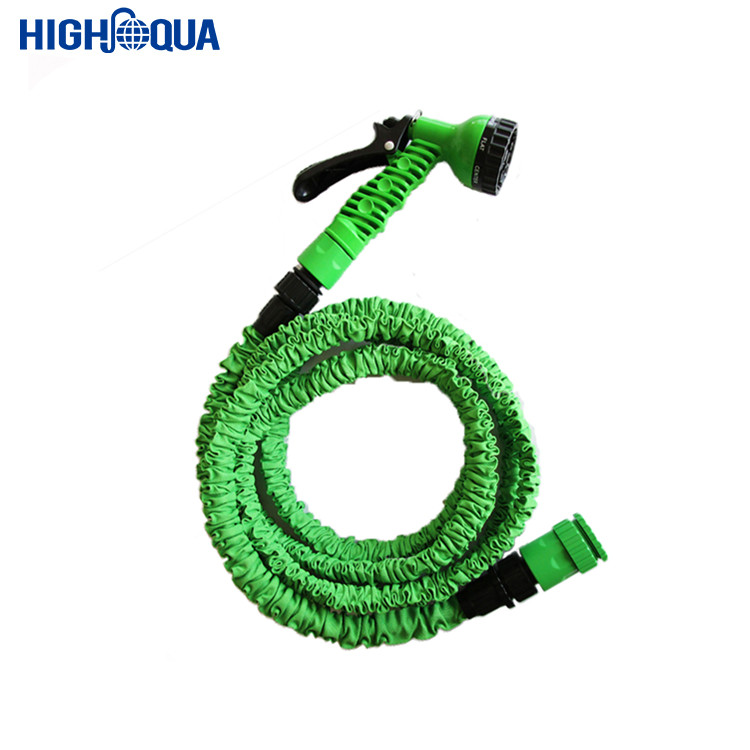 Expandable Magic Flexible Garden hose Water Hose 25 50 75 100 150 FT with Spray <strong>Nozzle</strong> 7 function gun