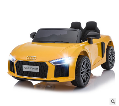 AUDI R8 LICENSED KIDS RIDE ON <strong>CAR</strong> 12V TWIN MOTOR BATTERY REMOTE CONTROL <strong>CARS</strong>