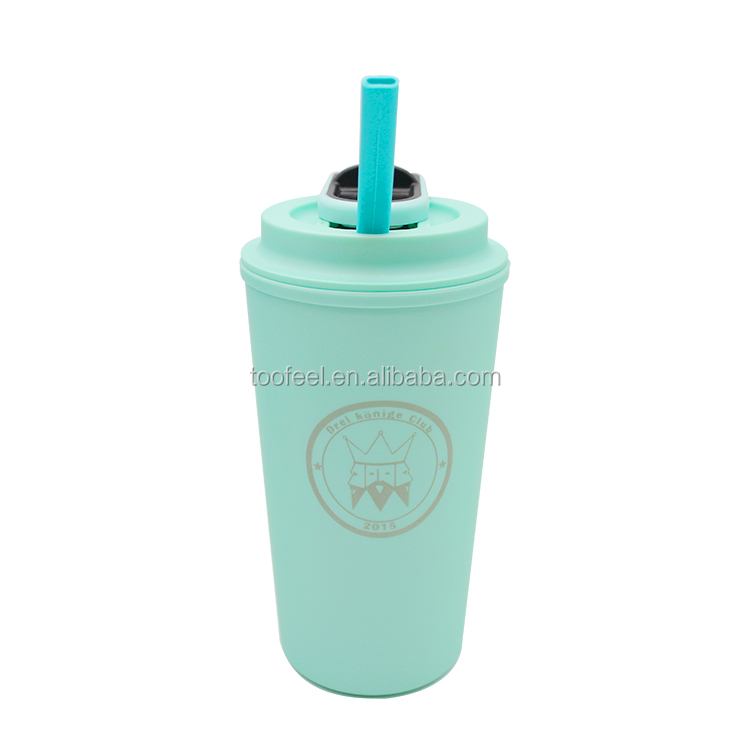 Wholesale Reusable To Go Cheap Coffee Cup Double Wall Custom Coffee Cup With Push Pull Structure Lid