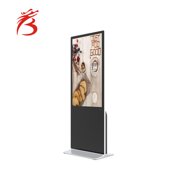 42 inch motion sensor advertising screen multi touch screen ads