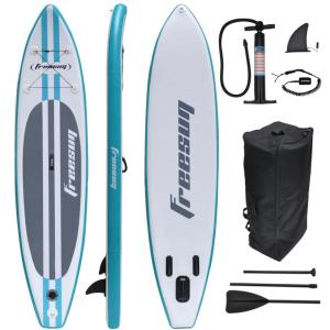 FREESUN Marca Inflável Stand Up Paddle Board Paddle
