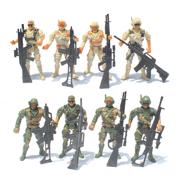 Collectible plastic anime gi joe soldier action figure manufacturer custom nami figura pvc mini 1/6 toy military anime figure
