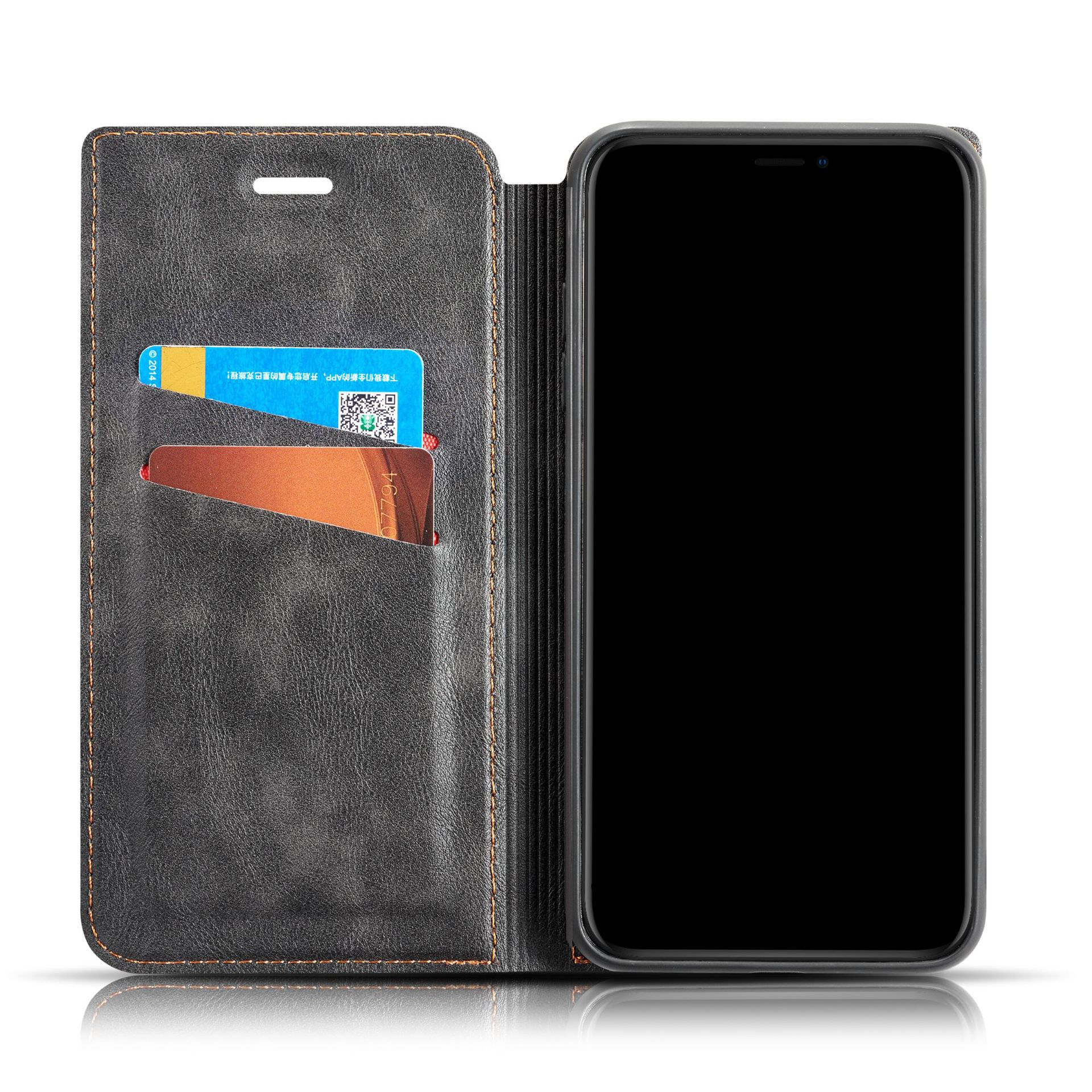 High Quality Multi Card Holder Phone Cases for iPhone X 6 7 8 Wallet PU Leather Flip Case for iPhone 11 XS Max XR
