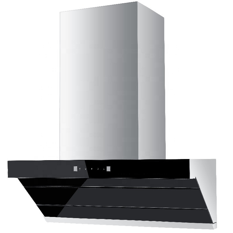 New Style Wall Mounted <strong>LED</strong> Lighting Commercial Kitchen Range Hood