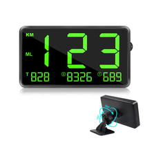"VJOYCAR Universal Large Screen 4.5"" Digital Car GPS Speedometer For All Vehicles motorcycle+meter Amazon Hot"