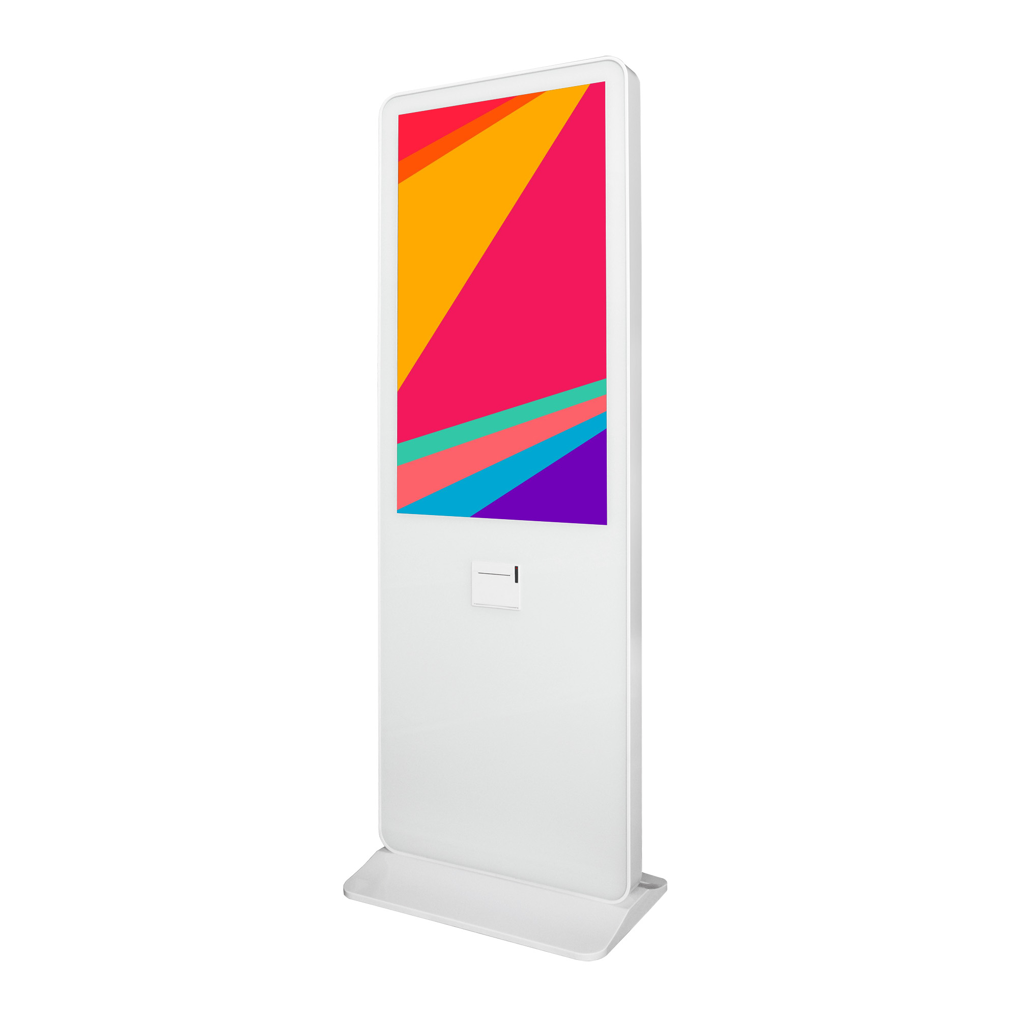 43inch Capacitive Touch Screen Self <strong>Payment</strong> Kiosk With Thermal Printer White Shopping Mall Windows OS <strong>Payment</strong> Kiosk