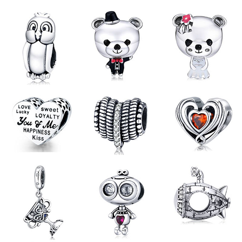 New arrival high quality 925 sterling silver european <strong>charms</strong> for bracelet making