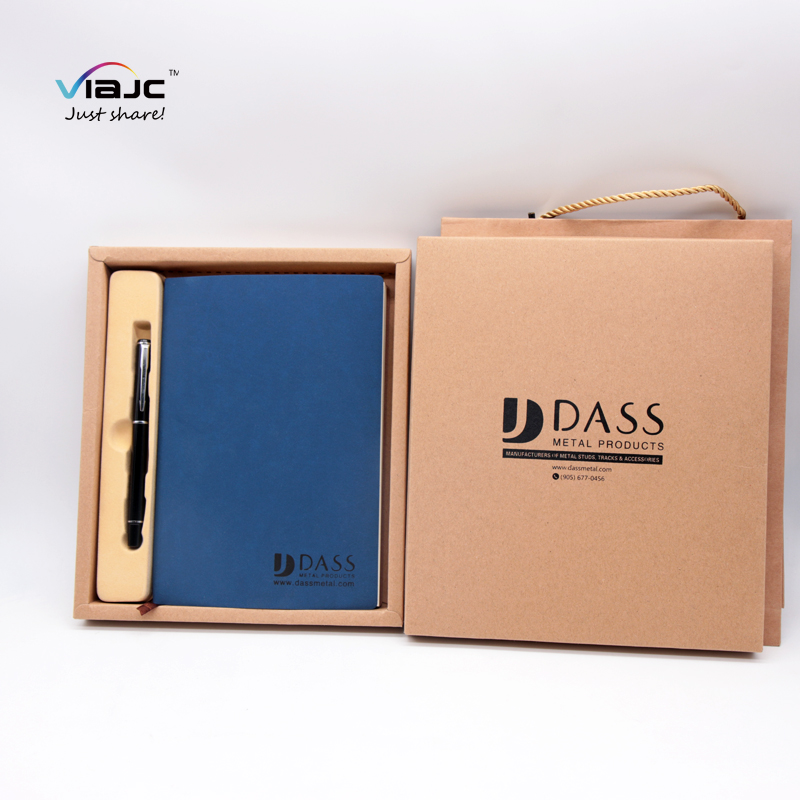 Best selling items promotional customized value pen PU notebook set with company <strong>logo</strong> cooperate gifts