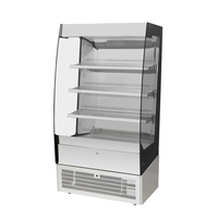 BLD-F09 commercial marble glass bakery pastry cake display refrigerator cabinet showcase