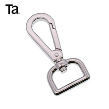 TANAI lighten gold heavy duty metal hook key ring snap hook for bags