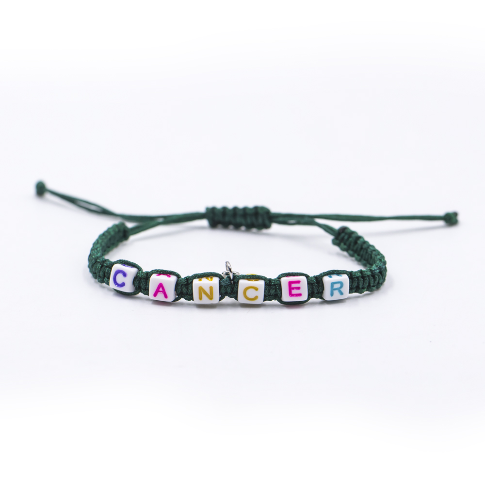 New creative zodiac sign charm Taurus letters beaded handmade bracelet