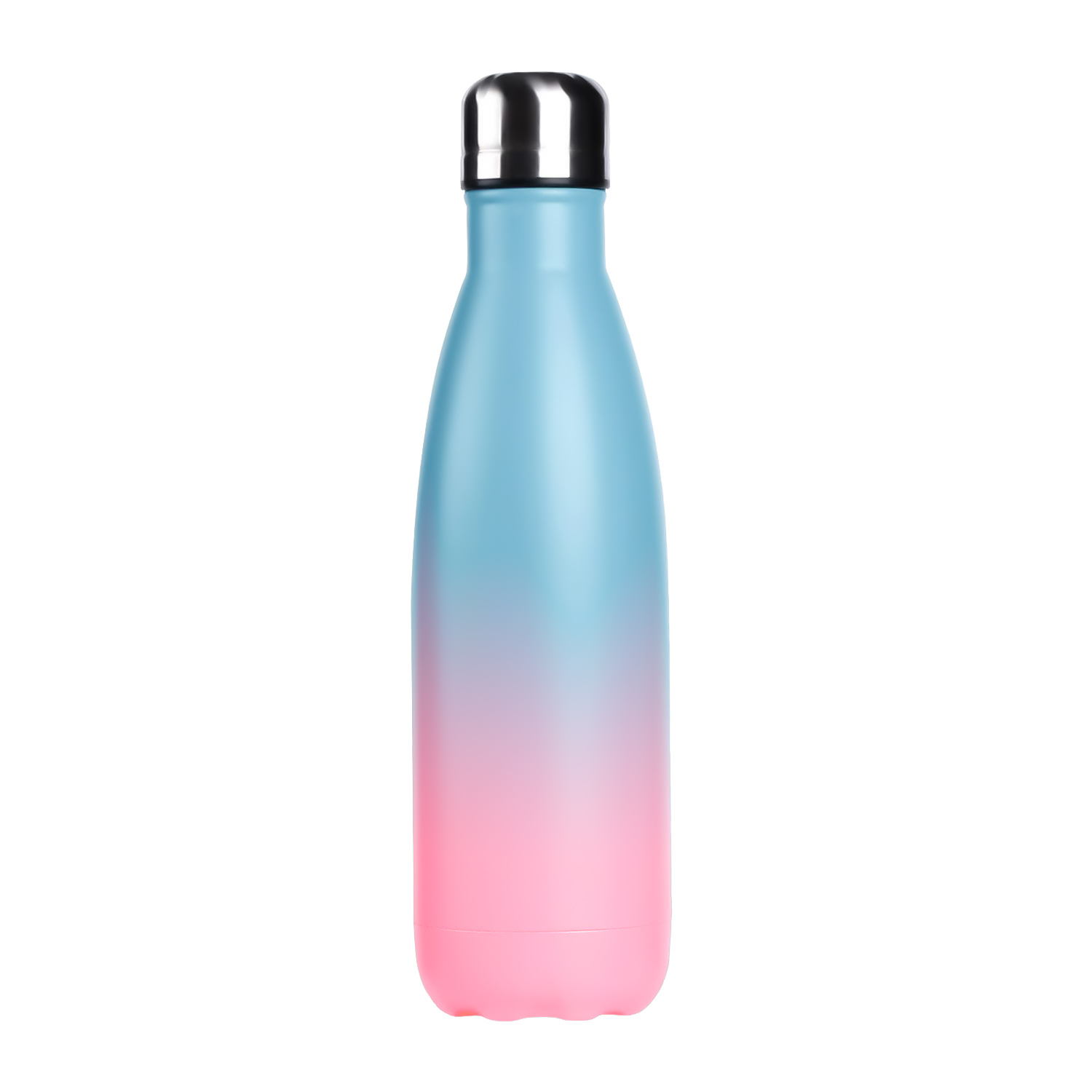 <strong>Sports</strong> travel bottle Vacuum Thermos Cola Shape water flask double wall insulated stainless steel water bottle with Custom Logo