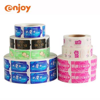 China Manufacturers High Quality Adhesive Label Printing,Waterproof Custom Vinyl Self Adhesive Label Stickers