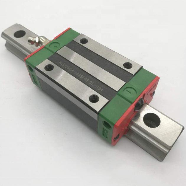 100% <strong>Original</strong> Hiwin Linear Rail HGR20 HGH20CA Linear Guides Slide Block