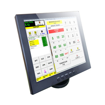 12 inch tft tv lcd  touch screen monitor