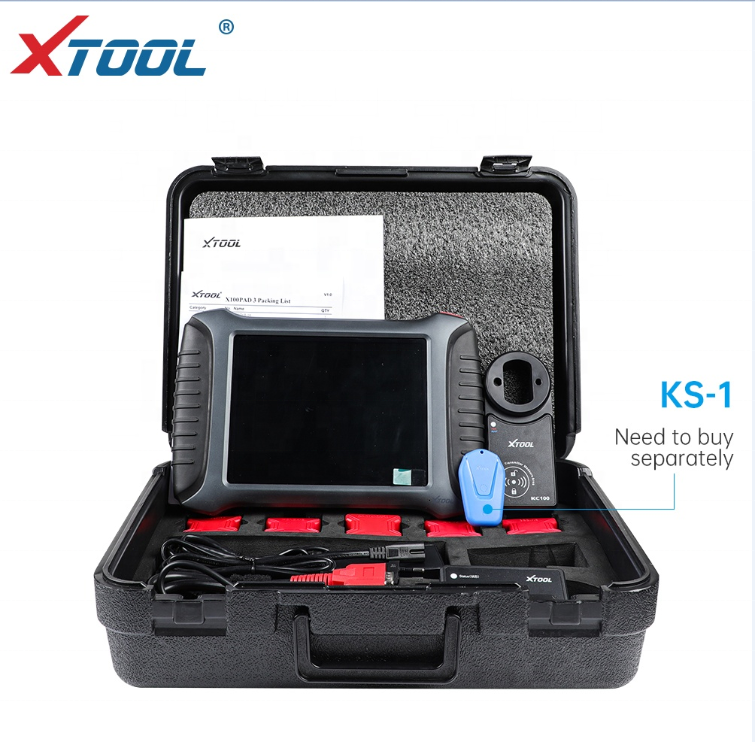 XTOOL <strong>X100</strong> PAD3 KS-1 OBD2 Car Diagnostic Tool Auto Key Programmer Car-detector PIN Code Reading <strong>Battery</strong> Reset EPB TPS Oil Reset