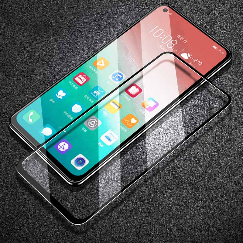 9D Full Glue For Huawei Honor 20 Lite/20 Pro/20/P Smart 2020 Screen Protector For Huawei Nova 5Z/Play 3E/Y9S Tempered Glass Film
