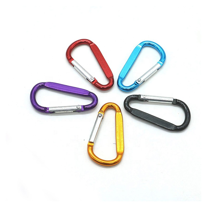 BT-A010 Hot Selling Design Hiking Outdoor Aluminum 6061 Camping Keychain Carabiner <strong>Hook</strong>