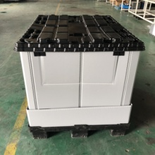 collapsible pallet container,plastic box pallet,foldable pallet box for cargo storage <strong>equipment</strong>
