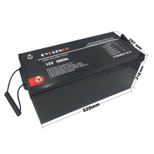 Deep cycle 12v lifepo4 lithium ion battery 12v 300ah with bms for solar systems