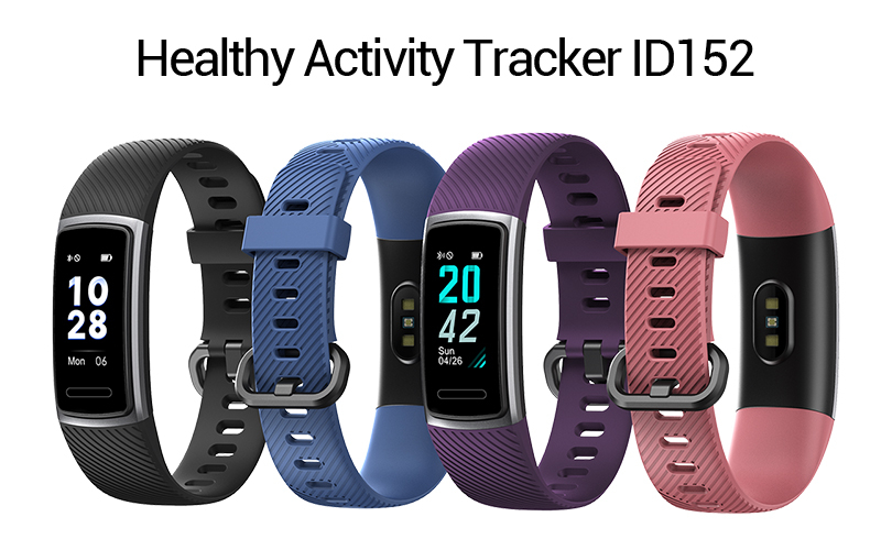 2019 Excellent Bracelet ID152 Veryfitpro Heart Rate Smart Band Waterproof IP68