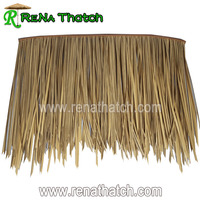 Hotsale waterproof synthetic straw palm thatch roof