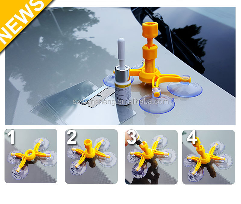 Car Styling Windshield Repair Kit Car Window Glass Scratch Crack Restore Repair Tool