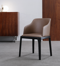 Wholesale Nordic Design Home <strong>Furniture</strong> Solid Wood Dining Chair With Leather Pad