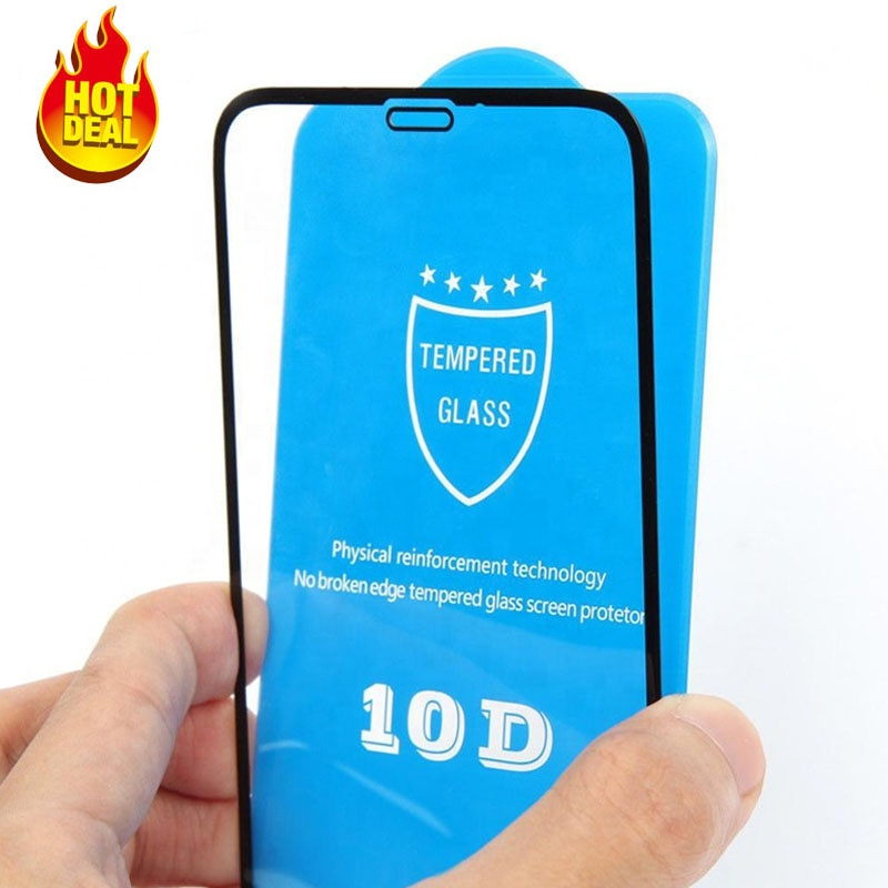 Factory Price 2019 Full glue 9H 10D Screen Protector Mobile Phone Tempered Glass for iPhone 6 7 8 plus xs xr xs max