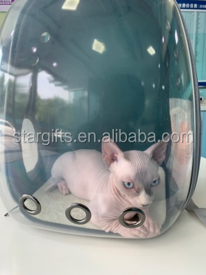 Breathable Transparent Clear Portable Pet Travel Bag Pet Carrier Bag Small Dog Cat Capsule Backpack for All Season