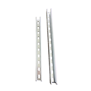 New Style Cheap Popular Galvanized Steel Single Strut Slotted Channel