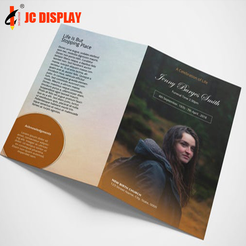 Brochures booklet catalog leaflet printing custom Glossy lamination advertising <strong>book</strong>/ flyers / leaflet